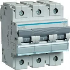 Автоматичний вимикач HAGER 3Р 100 А тип С (HLF390S)