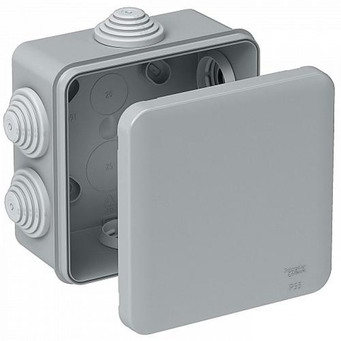 Коробка 85х85х40 Schneider Electric зовнішня IP55 (IMT35092)