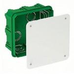 Коробка розподільна Schneider Electric для суцільних стін 100х100x50 мм (IMT35122)