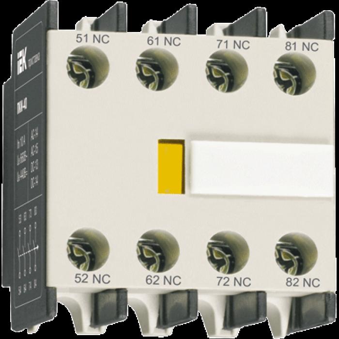 Додатковий контакт IEK ПКІ-04 (KPK10-04)