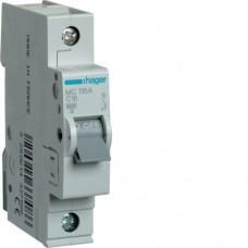 Автоматичний вимикач HAGER 1Р 16 А тип С (MC116A)