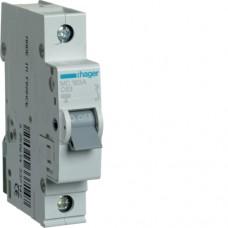 Автоматичний вимикач HAGER 1Р 63 А тип С (MC163A)