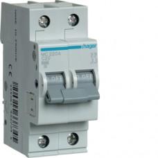 Автоматичний вимикач HAGER 2Р 20 А тип С (MC220A)