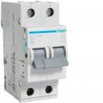 Автоматичний вимикач HAGER 2Р 63 А тип С (MC263A)