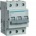 Автоматичний вимикач HAGER 3Р 10 А тип С (MC310A)