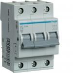 Автоматичний вимикач HAGER 3Р 16 А тип С (MC316A)