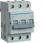 Автоматичний вимикач HAGER 3Р 32 А тип С (MC332A)