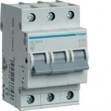 Автоматичний вимикач HAGER 3Р 50 А тип С (MC350A)