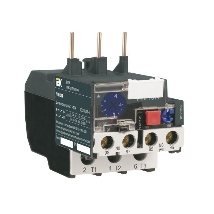 Реле РТІ-1305 IEK електротеплове 0.63-1.0 А (DRT10-C063-0001)