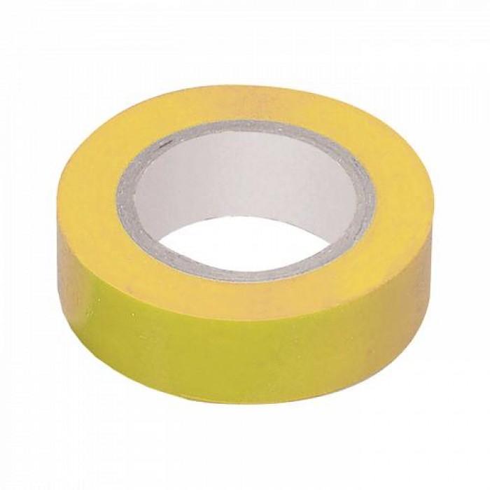 Ізоляційна стрічка IEK 0,13мм 19мм / 20м Жовта (UIZ-20-10-K05)