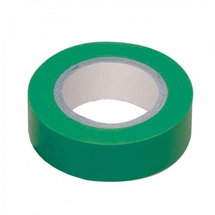 Ізоляційна стрічка IEK 0,13мм 19мм / 20м Зелений (UIZ-20-10-K06)