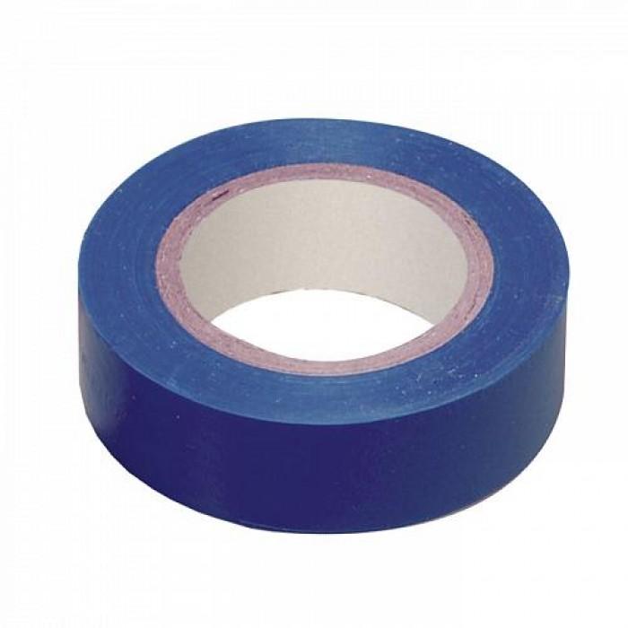 Ізоляційна стрічка IEK 0,13мм 19мм / 20м Синя (UIZ-20-10-K07)