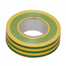 Ізоляційна стрічка IEK 0,13мм 15мм / 20м Жовто-зелений (UIZ-13-10-K52)